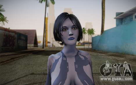 Cortana from Halo 4 for GTA San Andreas third screenshot