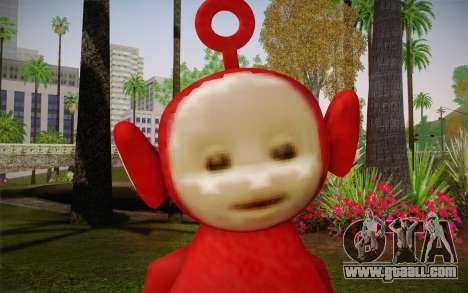 (Teletubbies) for GTA San Andreas third screenshot