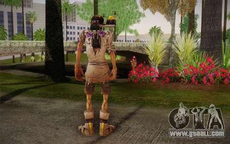Professor Nakayama из 2 Borderlands for GTA San Andreas second screenshot