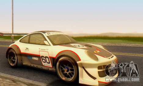 Porsche GT3 R 2009 for GTA San Andreas