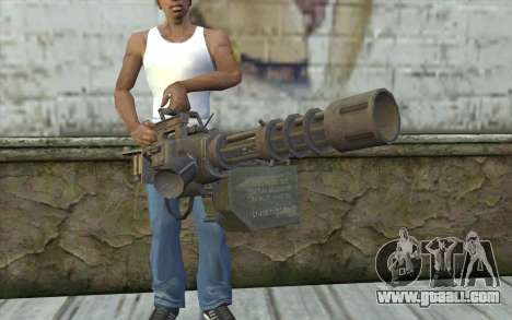 Minigun with a shop for GTA San Andreas third screenshot
