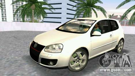 Volkswagen Golf V GTI for GTA Vice City
