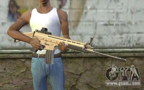 SCAR-L Custom for GTA San Andreas third screenshot