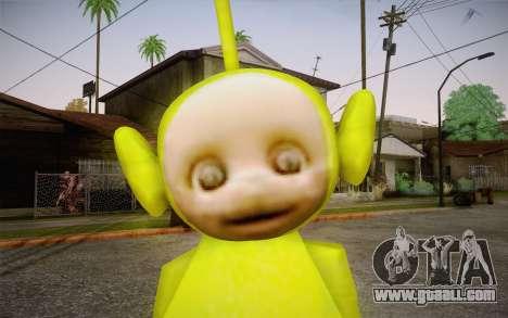 Despi (Teletubbies) for GTA San Andreas third screenshot