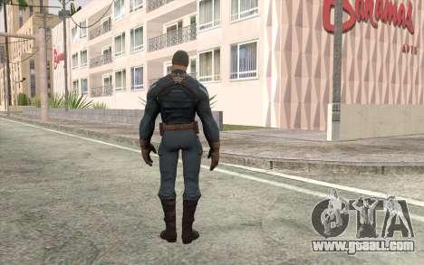 Captain America for GTA San Andreas second screenshot