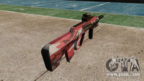 Автомат Steyr AUG-A3 Optic Red urban for GTA 4 second screenshot