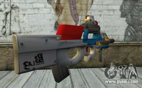 P90 MC Latin 3 from Point Blank for GTA San Andreas second screenshot