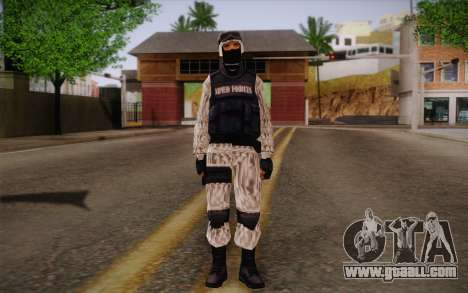 SWAT Snow Camo for GTA San Andreas