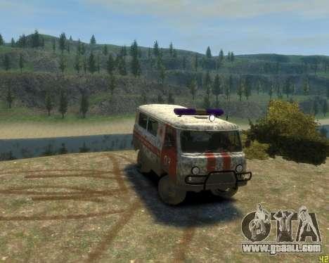 UAZ 39629 Ambulance for GTA 4