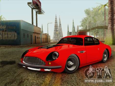 Aston Martin DB4 Zagato 1960 for GTA San Andreas