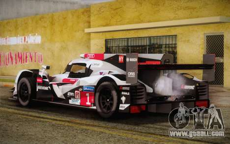 Audi R18 E-tron Quattro 2014 for GTA San Andreas left view