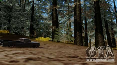 The dense forest v2 for GTA San Andreas fifth screenshot