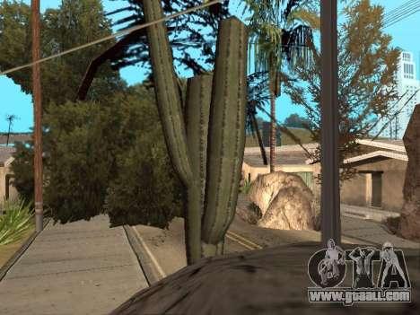 Jungle on a street Aztec for GTA San Andreas third screenshot