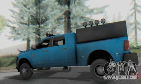 Dodge Ram 3500 Super Reforzada for GTA San Andreas back view