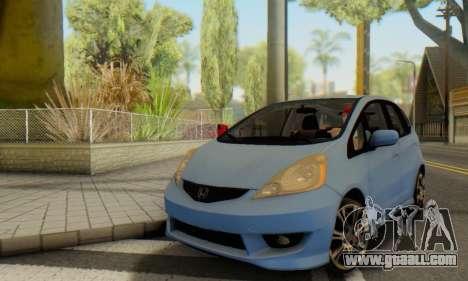 Honda Fit Stock 2009 for GTA San Andreas