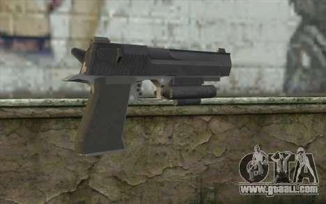 Desert Eagle from Modern Warfare 2 for GTA San Andreas second screenshot