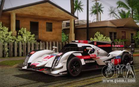 Audi R18 E-tron Quattro 2014 for GTA San Andreas