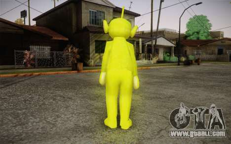 Despi (Teletubbies) for GTA San Andreas second screenshot