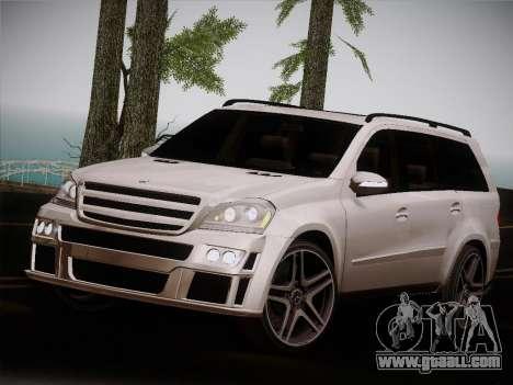 Mercrdes-Benz GL500 for GTA San Andreas