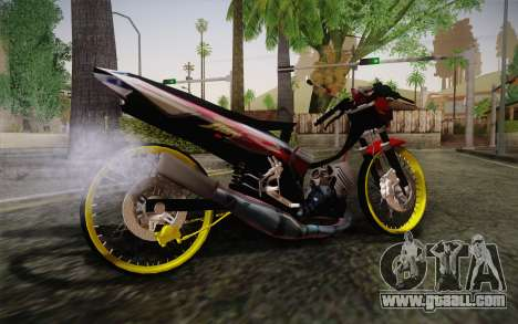 Yamaha Tiara S120 Speed MX drag for GTA San Andreas