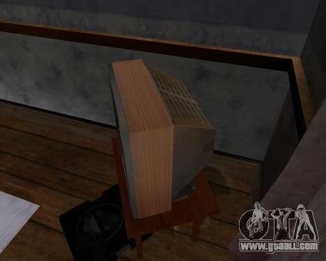 Colour television alpha TC-DU for GTA San Andreas fifth screenshot