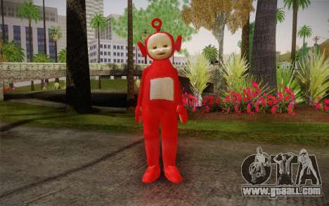 (Teletubbies) for GTA San Andreas