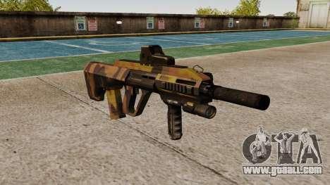 Machine Steyr AUG-A3 Optic Fall for GTA 4