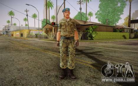 Corporal VDV for GTA San Andreas
