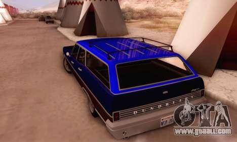 Dundreary Regina V1.0 for GTA San Andreas interior