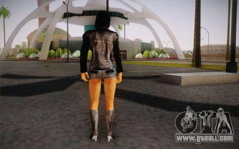 Jill Biker for GTA San Andreas second screenshot