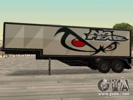 New advertising on cars for GTA San Andreas third screenshot