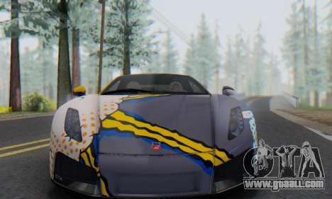 GTA Spano 2014 HQLM for GTA San Andreas right view