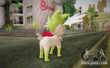 Shaymin Sky from Pokemon for GTA San Andreas second screenshot