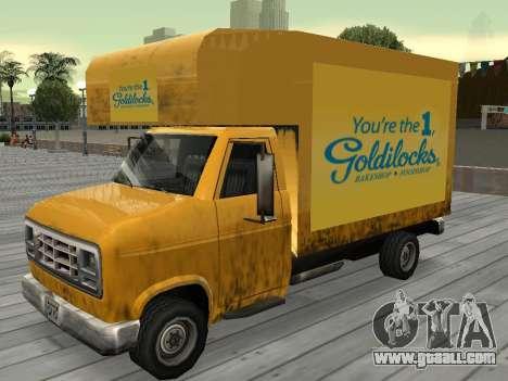 New advertising on cars for GTA San Andreas twelth screenshot