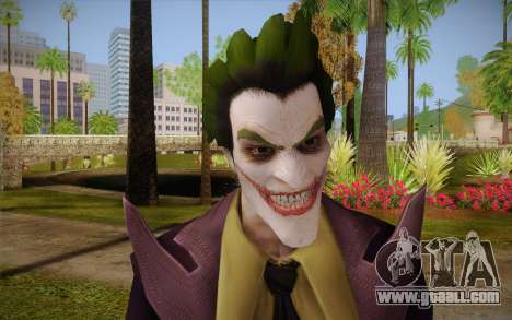 Joker from Injustice for GTA San Andreas third screenshot