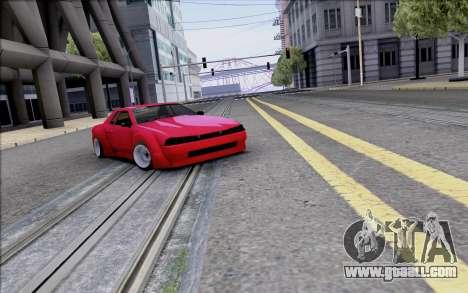 Elegy Rocket Bunny for GTA San Andreas upper view