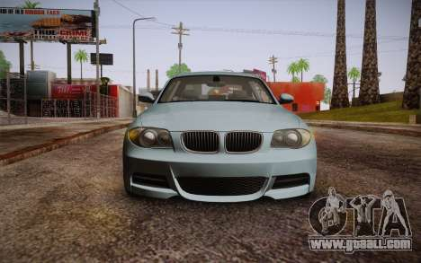 BMW 135i Limited Edition for GTA San Andreas back view