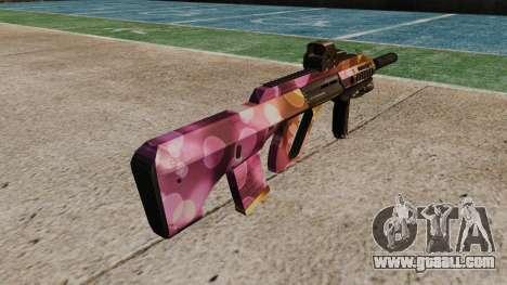 Machine Steyr AUG-A3 Optic Dots for GTA 4 second screenshot