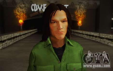 Sam Winchester из Supernatural for GTA San Andreas third screenshot