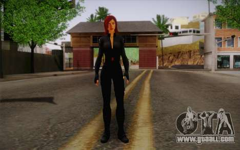 Scarlet Johansson из Avengers for GTA San Andreas
