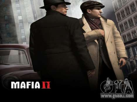 Boot screen Mafia II for GTA San Andreas forth screenshot
