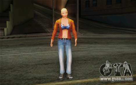 Woman Autoracer from FlatOut v1 for GTA San Andreas