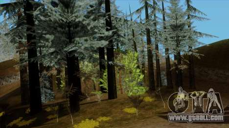 The dense forest v2 for GTA San Andreas third screenshot