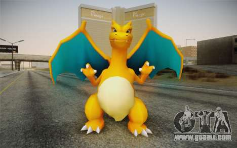 Charizard for GTA San Andreas