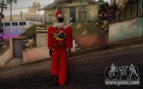 Santa Sam for GTA San Andreas second screenshot