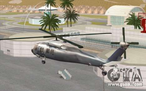 UH-60 Blackhawk for GTA San Andreas left view