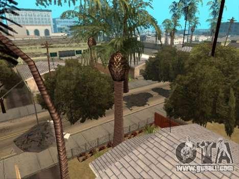 Jungle on a street Aztec for GTA San Andreas second screenshot