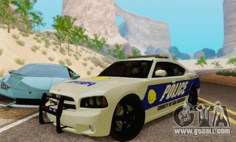 Pursuit Edition Police Dodge Charger SRT8 for GTA San Andreas