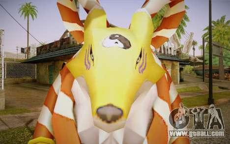 Kyubimon for GTA San Andreas third screenshot