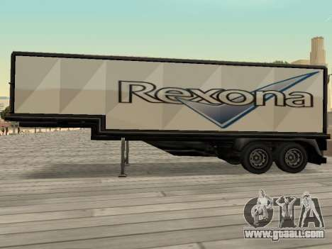 New advertising on cars for GTA San Andreas fifth screenshot